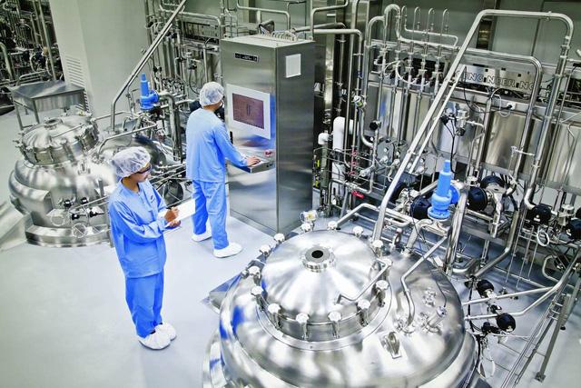 Cơ sở sản xuất đạt GMP WHO