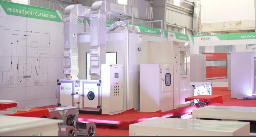INTECH luôn chủ động về mặt công nghệ với nhà máy sản xuất ở Yên Phong Bắc Ninh.