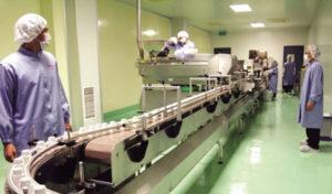 Các công đoạn của quá trình sản xuất đáp ứng yêu cầu