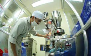 Dây truyền trong sản xuất mỹ phẩm