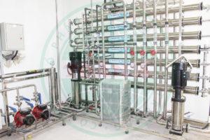 Hệ thống xử lý nước trong GMP ngành dược phẩm
