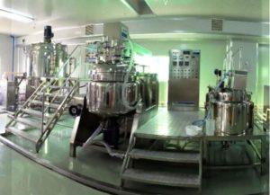 Trang thiết bị trong CGMP sản xuất mỹ phẩm