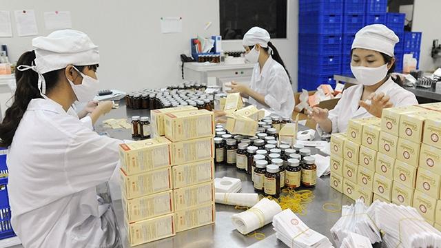 Tuân thủ các công đoạn trong sản xuất theo tiêu chuẩn GMP