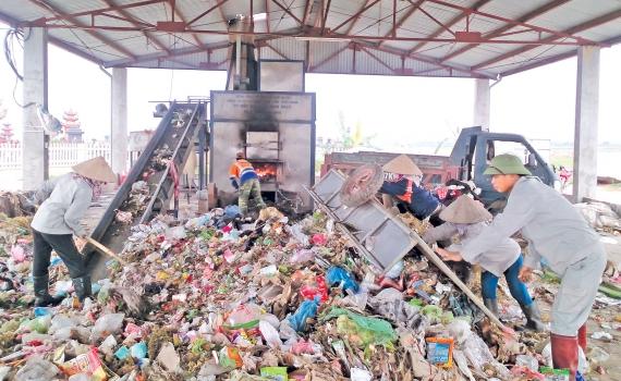 Lĩnh vực xử lý rác thải áp dụng SSOP