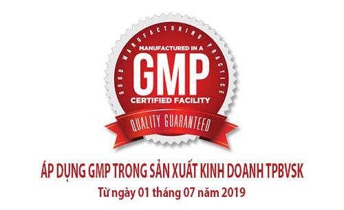 Tiêu chuẩn GMP thực phẩm chức năng