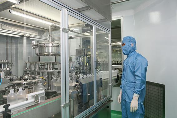 nhà máy sản xuất dung dịch truyền