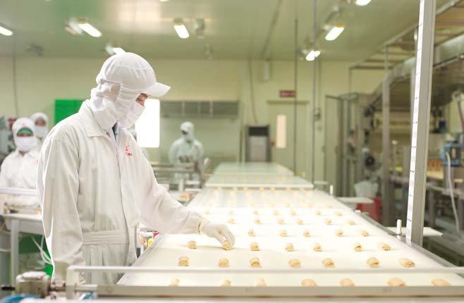 sản xuất thực phẩm đạt tiêu chuẩn